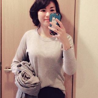 グレーを着る日な私の気分♪