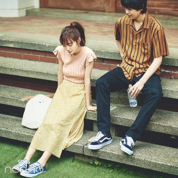 岡本夏美が令和の大学生に★ 告白されちゃう8着で15days着回し!