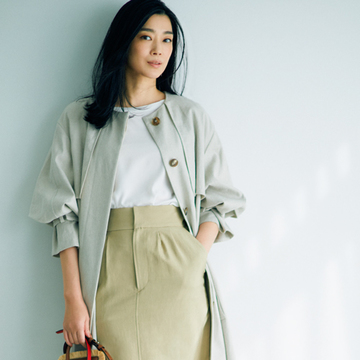 「甘くないスカート」をパンツ感覚で使って【春、注目したい「甘くないスカート」】