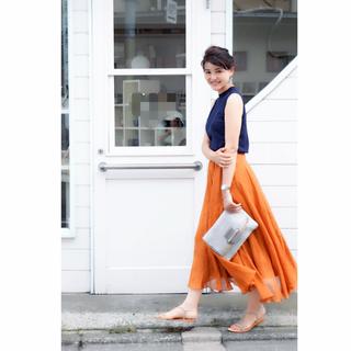 きれい色大人ロングスカート