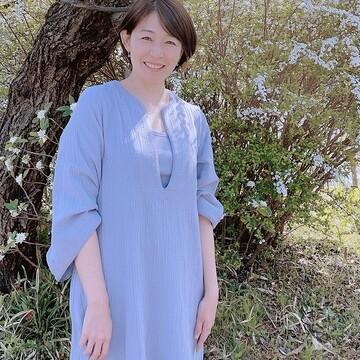 大草直子さんがスタイリング提案されたワンピースを着てお出かけ