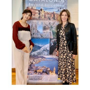 Theoryのパンツでカタルーニャ州イベントへ。