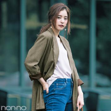 新木優子のトレンドコーデ♡ 秋の「ジャケット」は10倍可愛く着回せる!