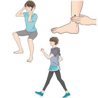 足ツボ&筋力アップで冷えない体を作る!【キレイになる活】