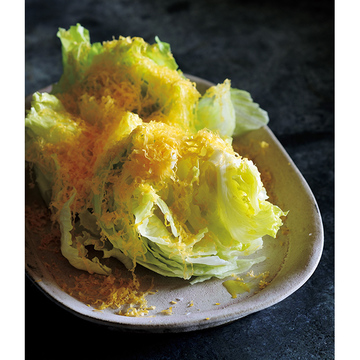 <冬こそチーズでおもてなし>レタスのミモレットサラダのレシピ