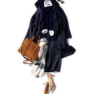 スタイリスト福田亜矢子さんがこの冬「茶色バッグ」を取り入れるなら?