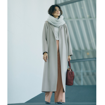 50代の格上げスタイル「カシミヤ」着こなし photo gallery