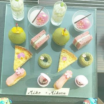 CONRAD tokyo の 桜アフターヌーンティー♡