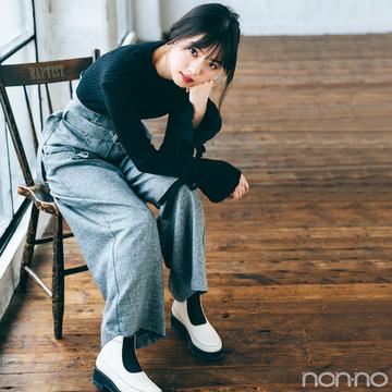 西野七瀬の解体新書★お気に入りの靴&今年の足元コーデを公開!