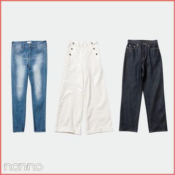 体型コンプレックス解決デニム★ 背が低い女子&脚が短い女子のための名品はコレ!