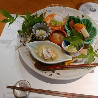 ミシュラン一つ星☆創作和食のお店へ