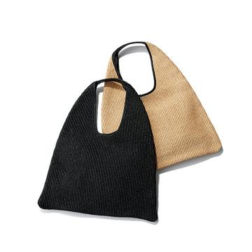 夏らしい素材感とシックなカラーで気分上々! 「最旬かごバッグ&サンダル」 五選