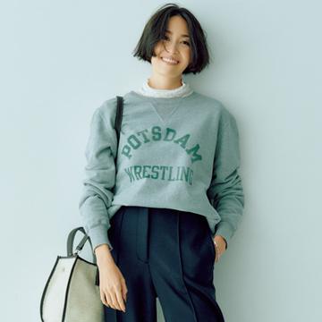 【パンツ師匠・スタイリスト室井由美子が回答!】 腰張り体型のパンツスタイルをすっきり見せるには?
