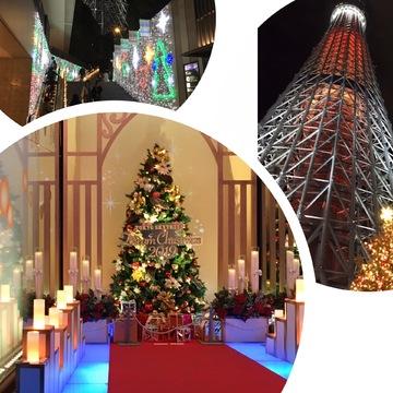 【デートにおすすめ】スカイツリーのクリスマス仕様がすごかった!