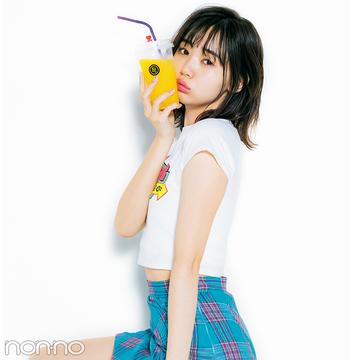 人気モデルの白Tシャツコーデ♡ふみかのロゴ、愛美のショート丈、玲奈のユニクロユーをチェック!