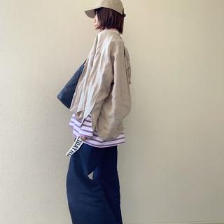 ミニマルなキャップでコーデを旬顔に❤︎【40代のミニマルファッション】