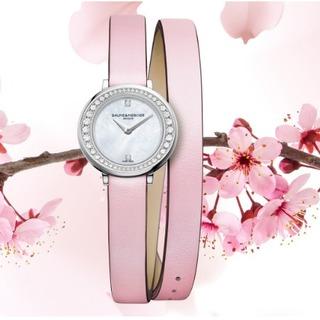 桜の季節にぴったり! ボーム&メルシエの春の限定モデル