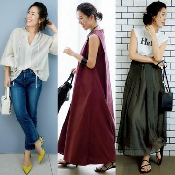 50代の夏のおしゃれは『大草カジュアル 』新しいファッションスタイルを大草直子さんが指南!