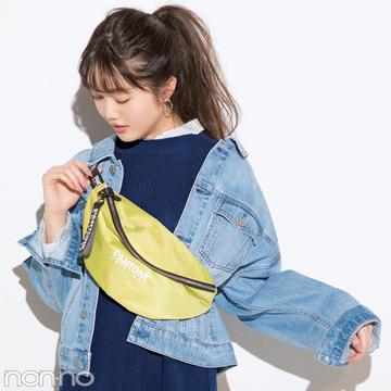 アースミュージック&エコロジーで買うなら、ニットとシャツのセットワンピ!【今→春着回しコーデ】