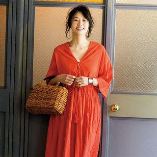 街でもリゾートでも着られる華やかなワンピースが欲しい!【夏のおしゃれQ&A】