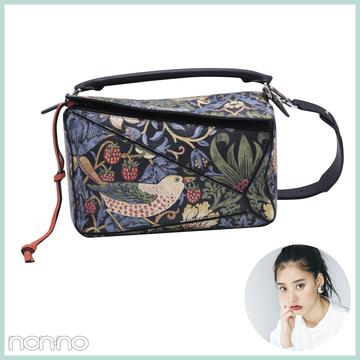 新木優子のお気に入り♡ ロエベのバッグ&バッグの中身を大公開!