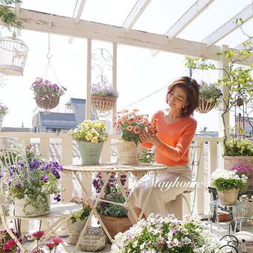 【Jマダムのおうち時間】美しく「草花」をながめて気持ちを前向きに!