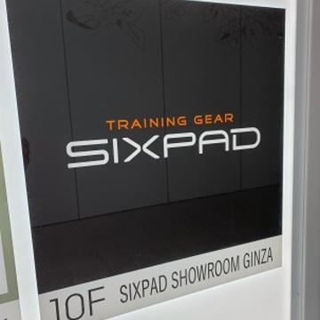SIXPAD SHOWROOM GINZA