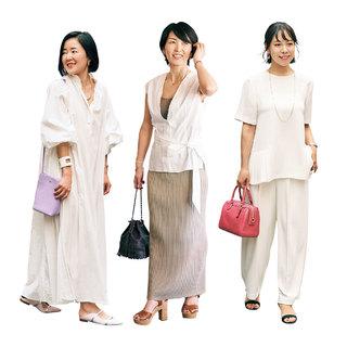 女子会の時にはほどよく女らしさと今っぽさを意識【美女組ファッションSNAP】