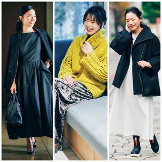 時代感と自分らしさのバランスとは?今をときめくキャリア女性のON&OFFスタイルまとめ|40代ファッション