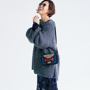<柄ワンピース編>すぐに使える冬のスタイリング作戦【大草直子さんの最新ファッション戦略】