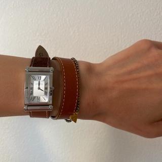 フランス発の着せ替え時計でブラウンコーデ☆_1_4