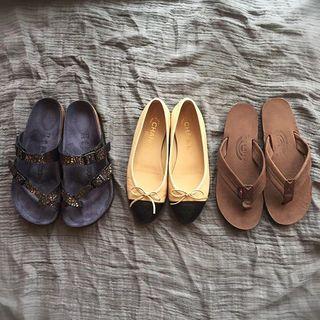 春夏の靴のスタメンはフラットシューズばかり。仕事に休日コーデにと大活躍!