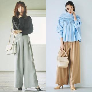 2020初夏の大本命ボトム「ワイドパンツ」コーデのまとめ|40代 ファッション