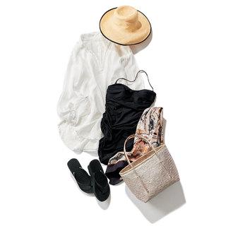 大人に似合う水着5選 | ワンピースや長袖の形に注目! | アラフォーファッション