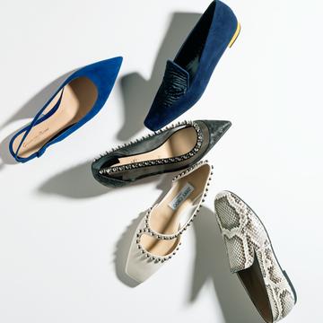 ステディブランドの「上品インパクト靴」5選【春ファッションに加えたい!マダム戸野塚厳選のフラット靴】