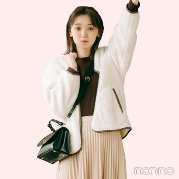江野沢愛美のドラマみたいな高見えしたい胸キュン着回し⑦