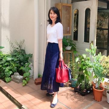GUの高見えスカート