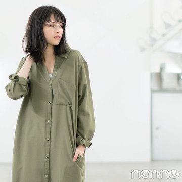 ノンノモデル西野七瀬、春の最愛ワンピはこの3枚!