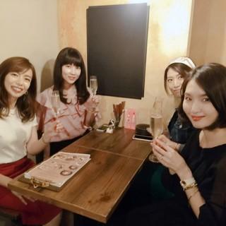話題の大阪イタリアンへ〈関西Marisol美女組会〉