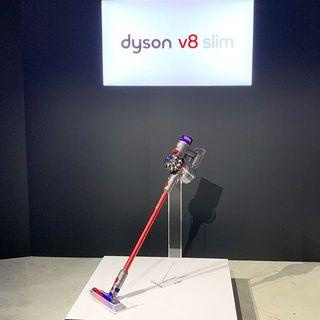 日本の住環境のために開発された新製品「Dson V8 Slim コードレスクリーナー」