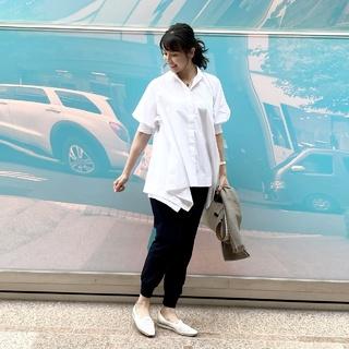 1枚で映える❗️笹川友里さんのコラボシャツ