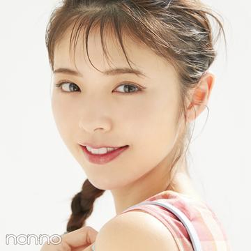 きれいめ派×春のトレンド服×最新メイクはワザありアイラインが決め手!