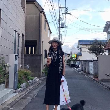愛犬とのワンマイル散歩コーデ