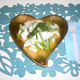優秀野菜で巡りを改善!かぶ全部使いのマリネレシピ