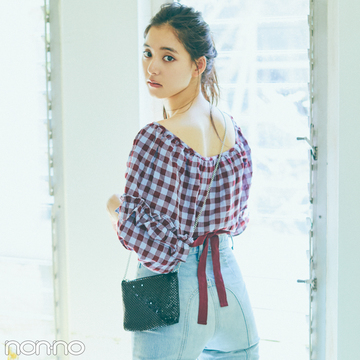 優子の私服デニムの着回しコーデをのぞき見!【新木優子に100問100答】