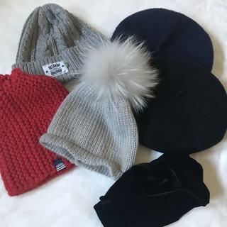 一石二鳥?一石三鳥? 帽子&ターバンは冬の必須アイテムです♡