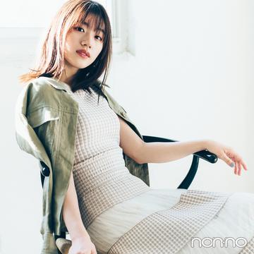 佐々木美玲の推しワンピ♡ マーキュリーデュオの新作ならこれ!