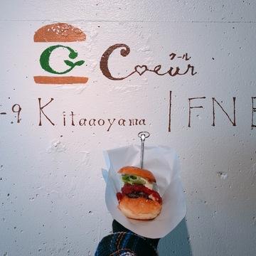 インスタ映えするハンバーガー