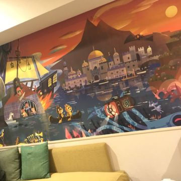 """話題の""""ディズニー新ホテル""""に潜入♡_1_9"""