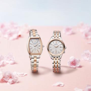 春の新生活に!オンオフ使えるセイコーの腕時計、桜限定モデルが有能すぎ♡